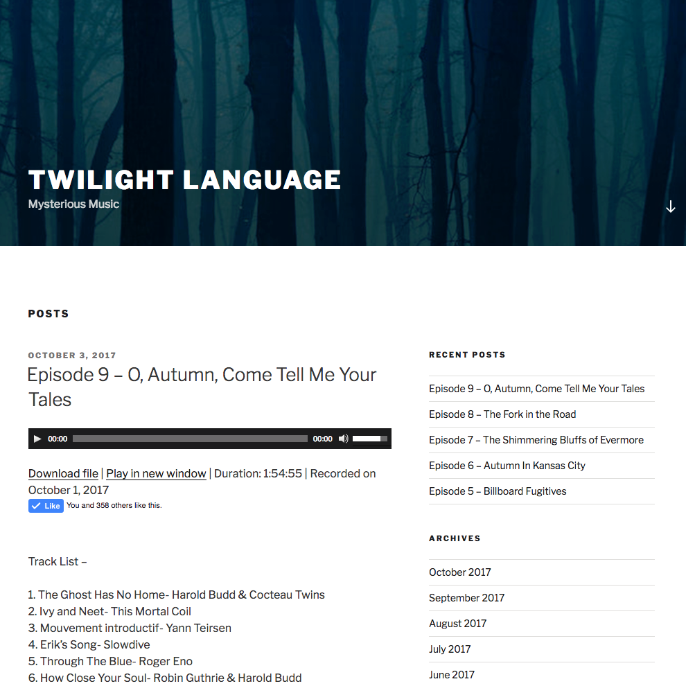 Twilight Language